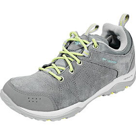 Columbia Fire Venture Low Waterproof - Chaussures Femme - gris